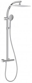 JACOB DELAFON Talan Душевая колонна c термостатическим смесителем с прямоугольным верхним душем - фото 66092
