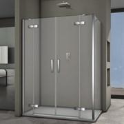 VECONI RV-065 Душевой уголок прямоугольный с распашными дверями, размер 140х80 см