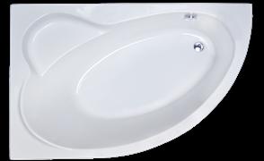 ROYAL BATH Alpine 170х100 Акриловая ванна асимметричная, левая