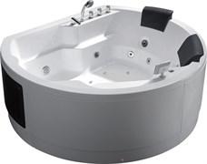 GEMY 183x162 Ванна акриловая гидромассажная, высота 83 см