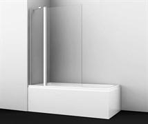 WASSERKRAFT Berkel 48P02-110 Fixed Стеклянная шторка на ванну, распашная, двухстворчатая, ширина 110 см, стекло прозрачное 6 мм