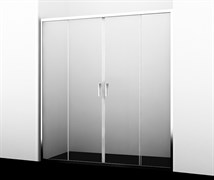 WASSERKRAFT Lippe 45S08 Душевая дверь, ширина 150 см, стекло прозрачное 6 мм