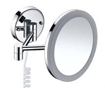 WasserKRAFT K-1004 Зеркало с LED-подсветкой, 3-х кратным увеличением