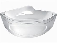 1MARKA Ibiza Ванна угловая, с рамой и панелью, белая, 150х150