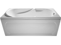 1MARKA Dipsa Ванна прямоугольная, с рамой и панелью, белая, 170x75