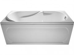 1MARKA Gloria Ванна прямоугольная, с рамой и панелью, белая, 160x70