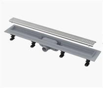 ALCA PLAST Симпл желоб водоотводящий, L 550 мм, пластик , с решеткой из нержавеющей стали, матовый