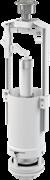 ALCA PLAST Сливной механизм для бачка унитаза, со стоп-кнопкой