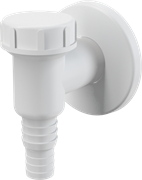 ALCA PLAST Сифон для стиральной машины, наружный, белый