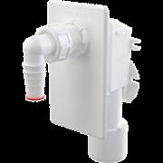 ALCA PLAST Сифон для стиральной машины встраиваемый, белый