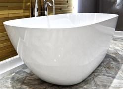 AquaStone Бали Ванна из литьевого мрамора, размер 170х80 см, высота - 60 см, глубина - 45 см