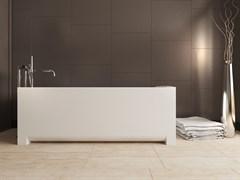 AquaStone Квадро Ванна из литьевого мрамора, размер 180х80 см, высота - 60 см, глубина - 45 см