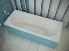 AquaStone Наоми 180 Ванна из литьевого мрамора, размеры 180х80 см, высота - 60 см, глубина - 46 см