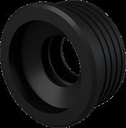 ALCA PLAST Гофрированная прокладка, d 50/32 мм