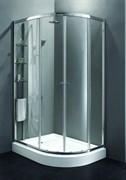 CEZARES ANIMA RH-2-R Душевой уголок асимметричный двери раздвижные, стекло 6 мм, правый вариант