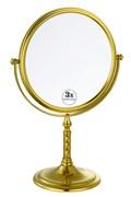 BOHEME Imperiale Зеркало настольное, двустороннее, 3-кратное увеличение, золото