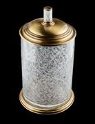 BOHEME Murano Crystal Ведро стеклянное, бронза