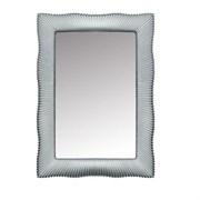 BOHEME Soho Зеркало прямоугольное, серебро, 80х120 см
