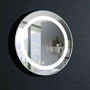 ESBANO Backlight Зеркало, с подсветкой, D=500мм, сенсорный выключатель