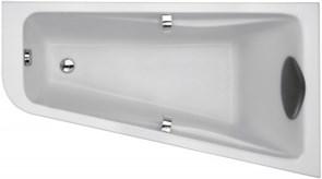 JACOB DELAFON Odeon Up Ванна (160 х 90 см) асимметричная (правосторонняя) для установки с ножками (в комплекте).