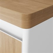 Столешница для тумбы VELVEX Klaufs без отверстий, Invisible Line, толщина 39 мм