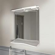 ALAVANN Monaco 60-01 Зеркало с полочкой, декорировано графическим узором