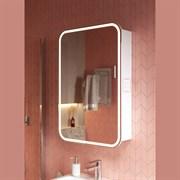 """ALAVANN Lana 55 Зеркальный шкафчик, подсветка по технологии """"LightFasade"""""""