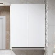 "ALAVANN Soft Silver 60 Шкафчик подвесной, декоративная вставка ""серебристый металлик"""