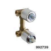 99273910 Palazzani встроенная часть для смесителя на 2 потребителя