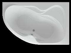 AQUATEK Вега Акриловая ванна на каркасе, слив-перелив в комплекте, без панели. Правая ориентация