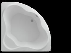 AQUATEK Галатея Акриловая ванна на каркасе, слив-перелив в комплекте, без панели.