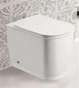 GROSSMAN Comfort Унитаз фарфоровый GR-PR3013 приставной, крышка-сиденье в комплекте