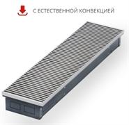 WARMES HAUS Конвектор без вентилятора водяной внутрипольный KWH с решеткой L-3300 мм