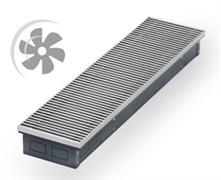 WARMES HAUS Конвектор с вентилятором водяной внутрипольный KWHV с решеткой L-4300 мм