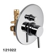 12102210 Palazzani Mimo встроенный смеситель для душа на 2 потребителя