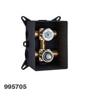 99570510 Palazzani PBox встроенная часть для смесителя на 2 потребителя