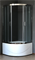 ROYAL BATH RB-L-3001 100x100 Душевое ограждение, стекло 6 мм прозрачное, профиль нержавеющая сталь зеркальный глянец, дверь раздвижная - фото 66521