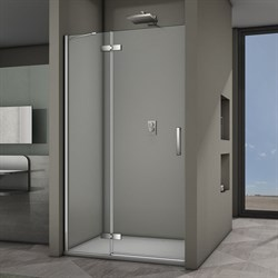 VECONI Душевая дверь распашная VN64, ширина 120 см - фото 10325