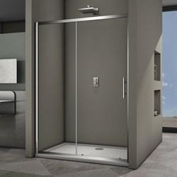 VECONI Душевая дверь раздвижная VN63, ширина 160 см - фото 10393