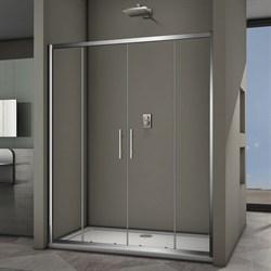 VECONI Душевая дверь раздвижная VN62, ширина 160 см - фото 10397