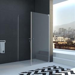VECONI RV-23 Душевой уголок квадратный с распашными дверями, размер 80х80 см - фото 10429
