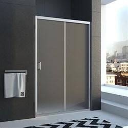 VECONI Душевая дверь раздвижная VN46, ширина 130 см - фото 10649