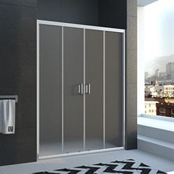 VECONI Душевая дверь раздвижная VN45, ширина 140 см - фото 10679