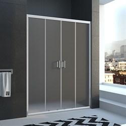VECONI Душевая дверь раздвижная VN45, ширина 130 см - фото 10682