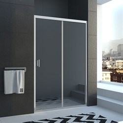 VECONI Душевая дверь раздвижная VN46, ширина 150 см - фото 10841