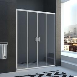 VECONI Душевая дверь раздвижная VN45, ширина 130 см - фото 10865