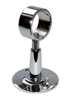 Крепеж для полотенцесушителя с цельным кольцом - 1 шт - фото 4506