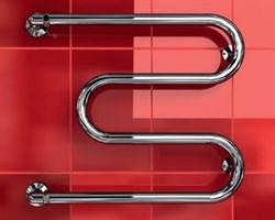 """M-1"""" DVEEN (ДВИН) Полотенцесушитель модель M, труба из нержавеющей стали, водяной - фото 4512"""