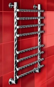 """Лесенка N Braid 1"""" DVEEN (ДВИН) Полотенцесушитель модель N Braid, труба из нержавеющей стали, водяной - фото 4671"""