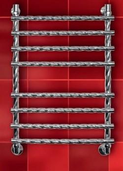 """Лесенка R Braid 1"""" DVEEN (ДВИН) Полотенцесушитель модель R Braid, труба из нержавеющей стали, водяной - фото 4679"""